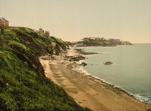 Art Prints of General View Falaises de Donville, Granville, France (387291)
