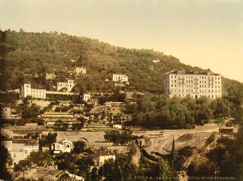 Art Prints of Grand Hotel, Grasse, France (387295)