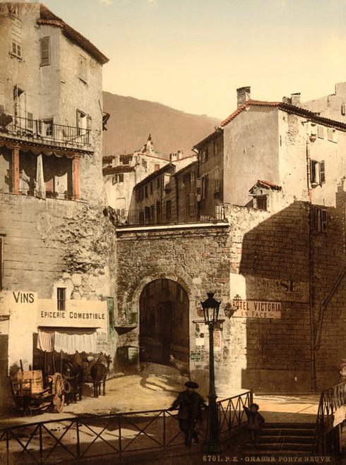 Art Prints of New Gate, Grasse, France (387296)