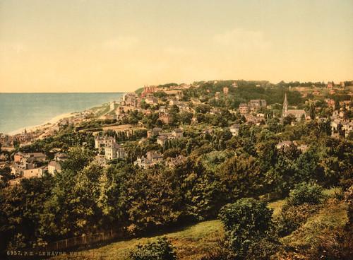 Art Prints of From Sainte-Adresse, Havre, France (387300)