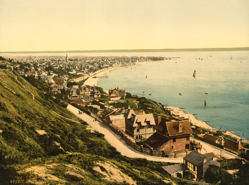 Art Prints of General View and Mouth of the Seine, Havre, France (387301)