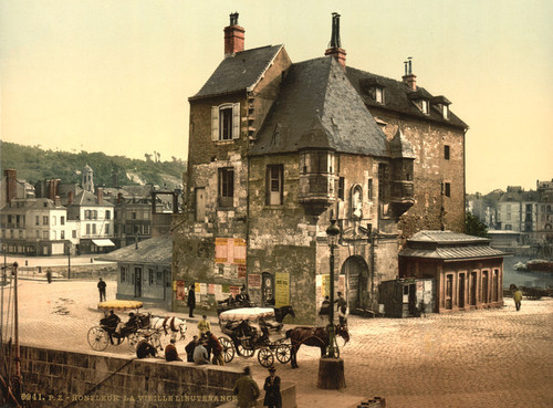 Art Prints of The Old Lieutenancy, Honfleur, France (387309)