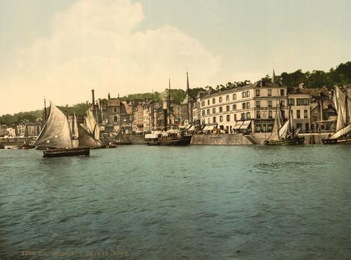 Art Prints of The Outer Port, Honfleur, France (387312)