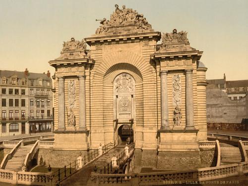 Art Prints of The Paris Gate, Lille, France (387317)