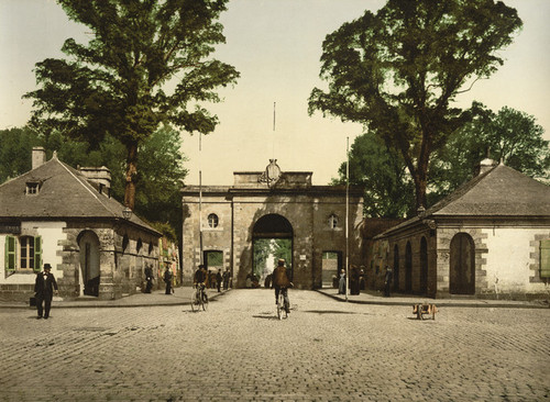 Art Prints of Marbihan Gate, Lorient, France (387322)
