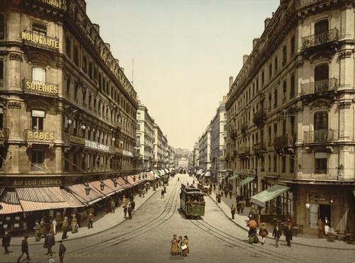 Art Prints of Rue de la Republic, Lyons, France (387330)