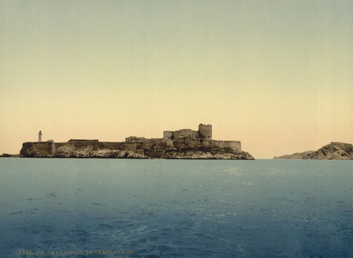 Art Prints of Chateau d'If from the Sea, Marseilles, France (387350)