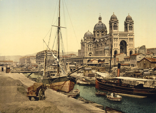 Art Prints of The Cathedral, Marseilles, France (387354)