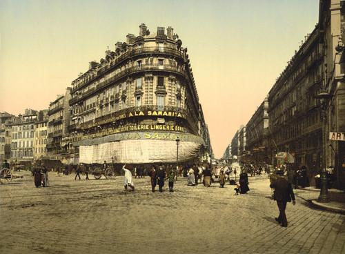 Art Prints of Rue de la Republic, Marseilles, France (387360)