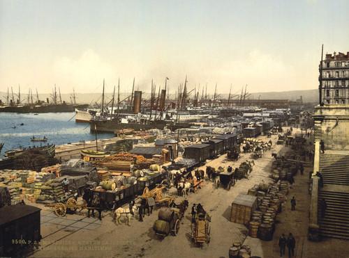 Art Prints of Quay de la Joliette, Marseilles, France (387368)