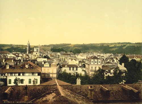 Art Prints of General View, Montpelier, France (387373)
