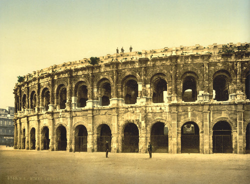 Art Prints of The Arena, Nimes, France (387398)