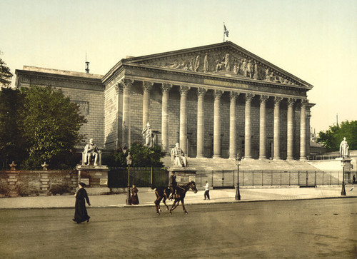 Art Prints of The Chamber of Deputies, Paris, France (387411)
