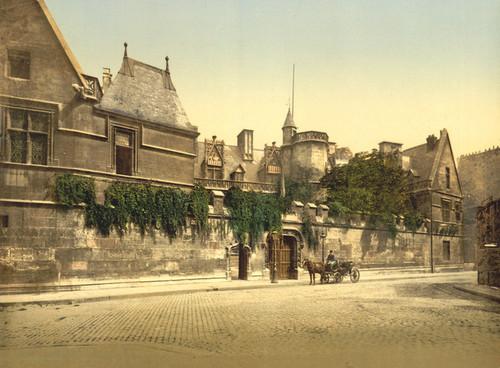 Art Prints of Cluny Museum, Paris, France (387420)