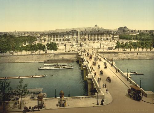 Art Prints of Place de la Concorde, Paris, France (387445)