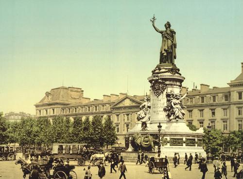Art Prints of Place de la Republique, Paris, France (387447)