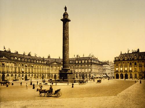 Art Prints of Place Vendome, Paris, France (387448)
