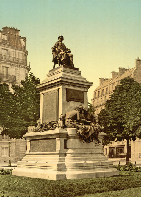 Art Prints of Alexandre Dumas Monument, Paris, France (387455)