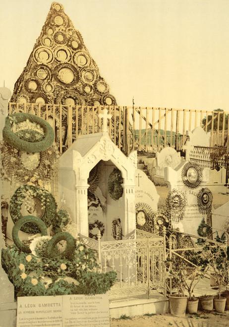 Art Prints of Shrine to Leon Gambetta, Paris, France (387461)