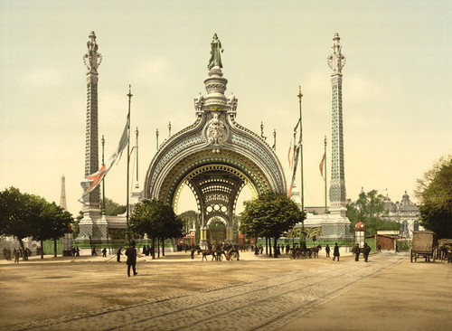 Art Prints of Grand Entrance, Exposition Universelle, 1900, Paris, France (387468)