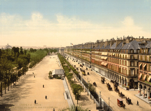 Art Prints of Avenue de la Opera, Exposition Universelle, Paris, France (387475)