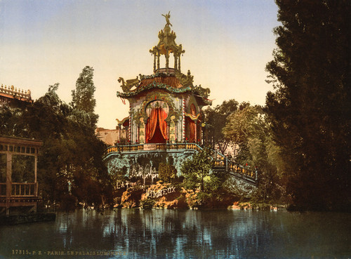 Art Prints of The Palace Lumineux, Exposition Universelle, Paris, France (387476)