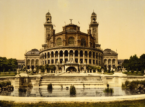Art Prints of The Trocadero, Exposition Universelle, 1900, Paris, France (387480)