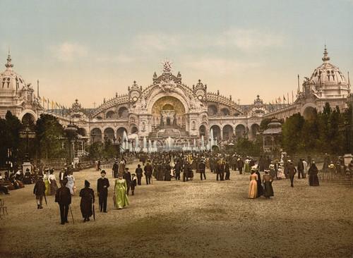 Art Prints of Le Chateau d'Eau and Plaza, Paris, France (387478)