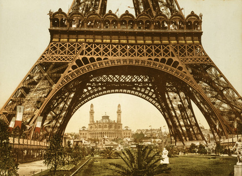 Art Prints of Eiffel Tower and the Trocadero, Paris, France (387484)