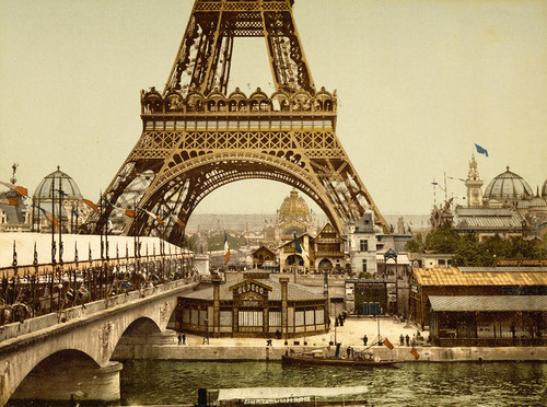 Art Prints of Eiffel Tower and General View of the Grounds, Paris, France (387486)