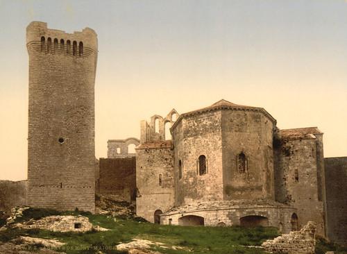 Art Prints of Mont Majour Abbey, Orange, Provence, France (387498)