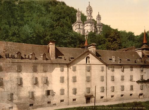 Art Prints of The Monastery, Betharram, Pyrenees, France (387516)