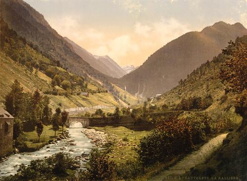 Art Prints of La Railliere or Raillere, Cauterets, Pyrenees, France (387529)