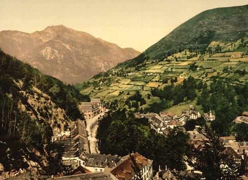 Art Prints of Eaux Bonnes, Pyrenees, France (387535)