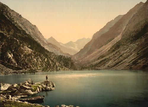 Art Prints of The Lake Gaube, Pyrenees, France (387540)