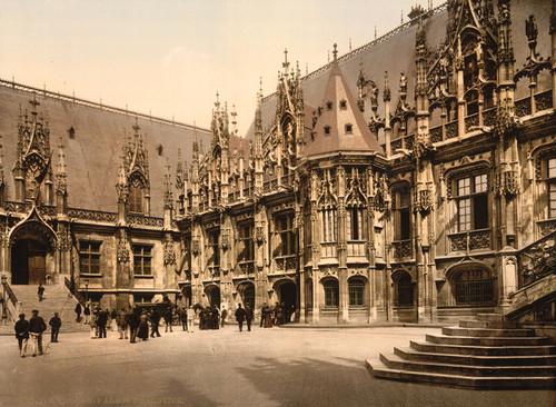 Art Prints of Palais de Justice, Rouen, France (387591)