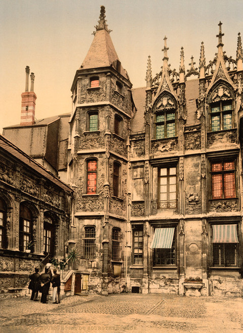 Art Prints of The Hotel Bourgtheroulde, Rouen, France (387592)