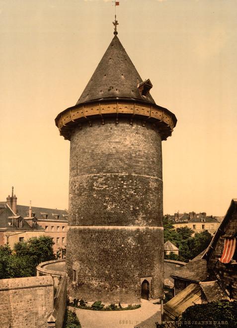 Art Prints of Joan of Arc's Tower, Rouen, France (387594)