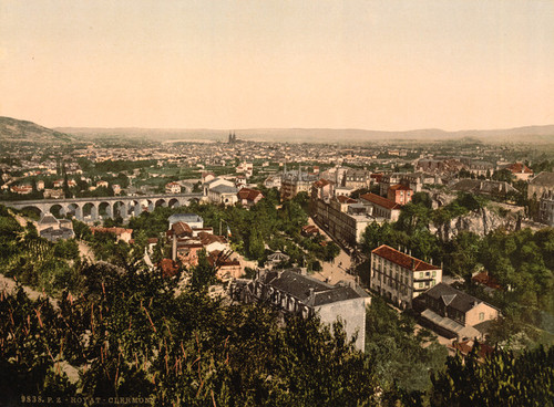 Art Prints of General View, Royat, France (387599)