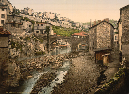 Art Prints of General View, Thiers, France (387615)