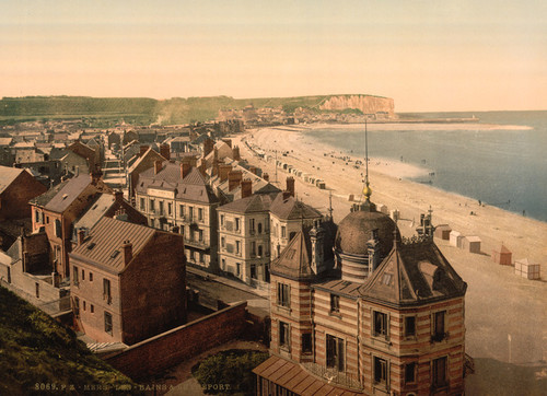 Art Prints of General View, Treport, France (387623)