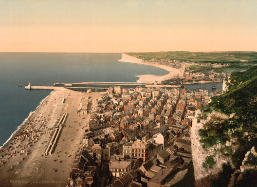 Art Prints of General View, Treport, France (387622)