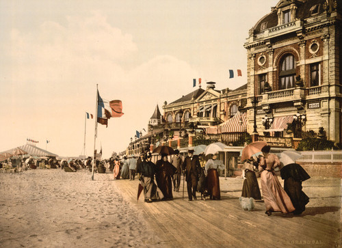 Art Prints of Promenade and Grand Salon, Trouville, France (387628)