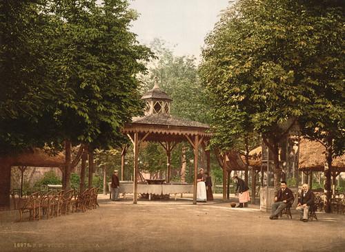 Art Prints of The Lardy Spring, Vichy, France (387732)