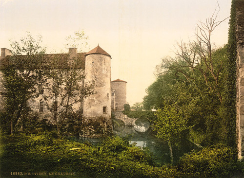 Art Prints of Le Chaussin, Vichy, France (387735)