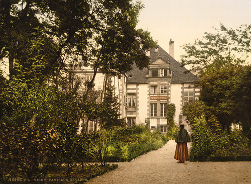 Art Prints of Pavilion Sevgne or Sevigne, Vichy, France (387734)