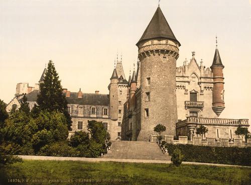 Art Prints of Busset Nera Vichy, Chateaux de Bourbon, Vichy, France (387737)