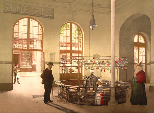 Art Prints of Source de la Grande Grille Drink Hall, Vichy, France (387739)