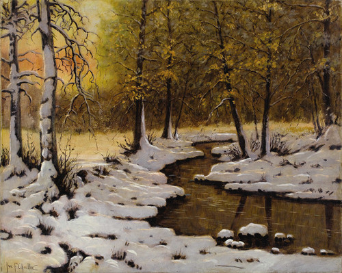 Art Prints of Evening Light by Ivan Fedorovich Choultse