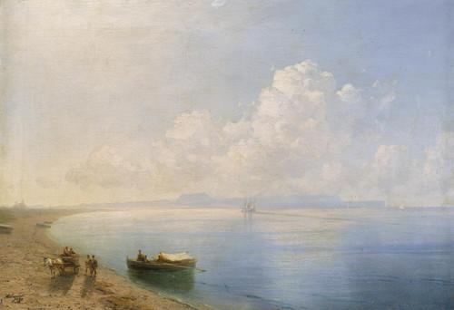 Art Prints of Calm Waters by Ivan Konstantinovich Aivazovsky